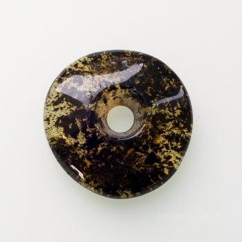 Amber Donut Amulet