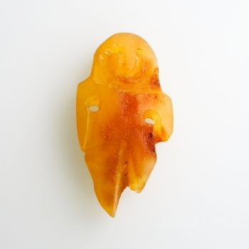 Raw Baltic Amber Amulet