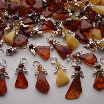 Wholesale of Baltic amber angels